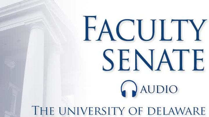 Thumbnail for channel Faculty Senate Meetings 2009 - 2010
