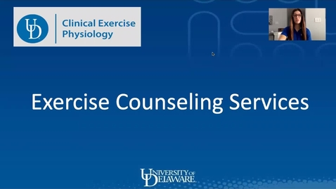 Thumbnail for entry UD Exercise Clinic - 2021 Virtual Benefits and Wellbeing Fair Informational Video