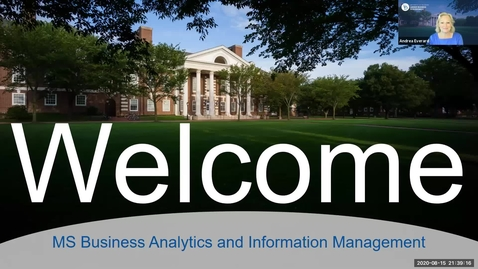 Thumbnail for entry Business Analytics and Information Management - Lerner Graduate Student Orientation