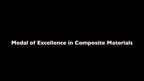 Thumbnail for entry Medal of Excellence Presentation 2021 - ASC 36th Technical Conference