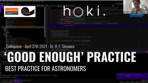 Thumbnail for entry Astro Space Seminar