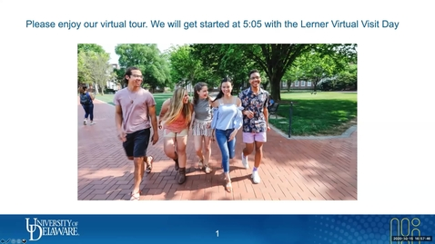 Thumbnail for entry Lerner Virtual Visit - Economics