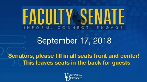 Thumbnail for entry 2018-2019/videos/01Faculty Senate Meeting Sept 17th 2018.mp4