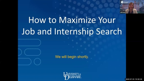 Thumbnail for entry How to Maximize your Job Search