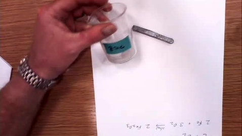 Thumbnail for entry Kinetics-Zinc in Acid.mov