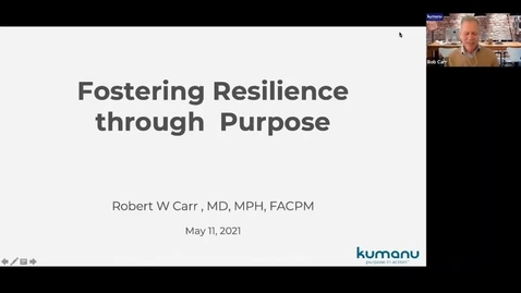 Thumbnail for entry Mental Wellbeing Boosters: What's your 'Why'? Fostering Resilience With Purpose