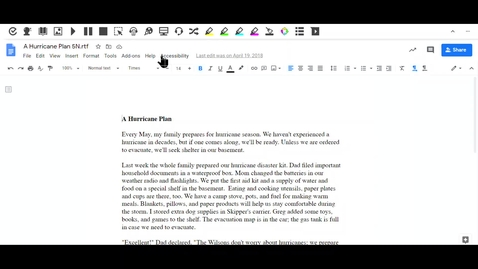 Thumbnail for entry Highlighting Text as Read