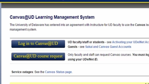 Thumbnail for entry 1. iClicker with Canvas. Add student registration tool to Canvas