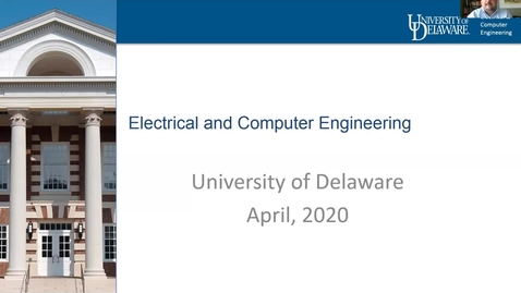 Thumbnail for entry Electrical and Computer Engineering Decision Day —College of Engineering