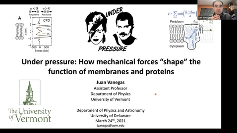 """Thumbnail for entry Juan Vanegas University of Vermont 2021/4/24 
