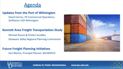 Thumbnail for entry Delmarva FreightFriday: Updates from the Port of Wilmington | June 26, 2020