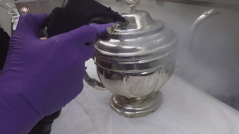 Thumbnail for entry coating removal with pressurized steam