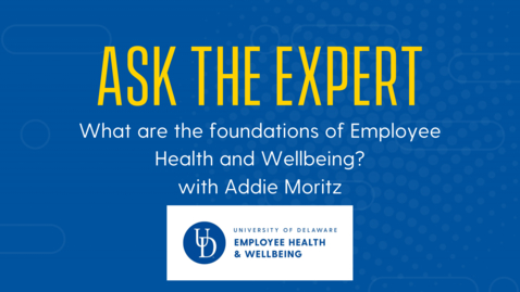 Thumbnail for entry Ask the Expert | What are the foundations of EHW?