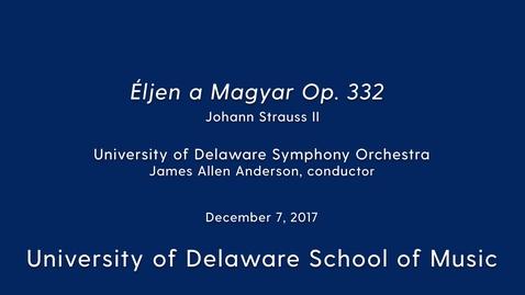 Thumbnail for entry UDSO: Eljen a Magyar Op 332