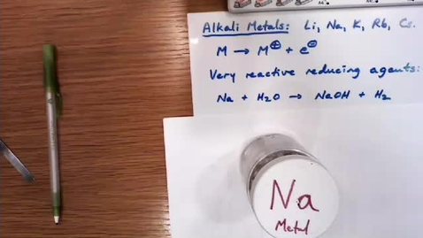 Thumbnail for entry Sodium in Water.mov