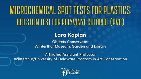 Thumbnail for entry Microchemical Spot Tests for Plastics: Beilstein Test for Polyvinyl Chloride (PVC)