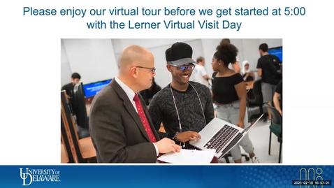 Thumbnail for entry Lerner Virtual Visit Day Feb. 18, 2021