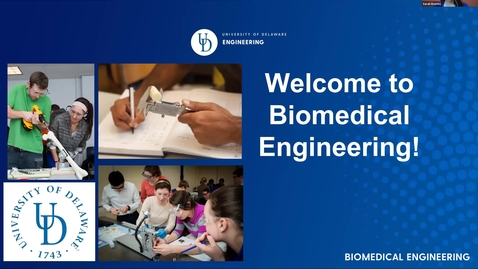 Thumbnail for entry Biomedical Engineering Decision Day Breakout Session —College of Engineering