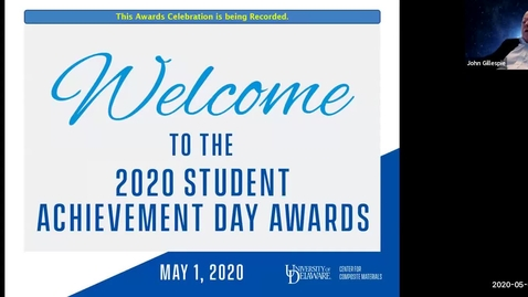 Thumbnail for entry 2020 Virtual Student Achievement Day Awards