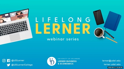 Thumbnail for entry Lifelong Lerner Webinar Series: The Sports Industry's New Normal