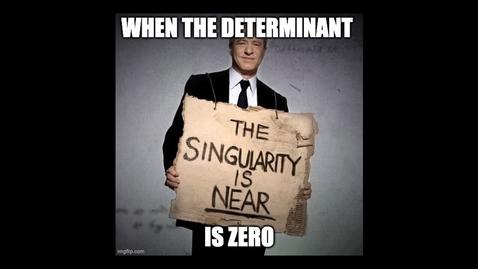 Thumbnail for entry I.10 Singularity