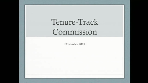 Thumbnail for entry 2017-2018/videos/06Open Hearing On Tenure Nov. 13th 2017.mp4