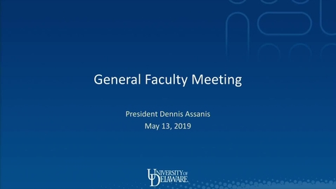 Thumbnail for entry 2018-2019/videos/General Faculty Meeting May 13th 2019.mp4