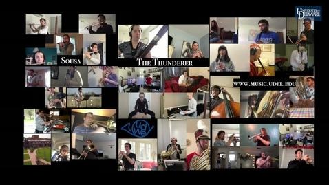 Thumbnail for entry The Thunderer
