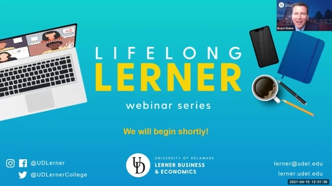 Thumbnail for entry Lifelong Lerner Expert Webinar Series Artificial Intelligence in Healthcare Outcomes