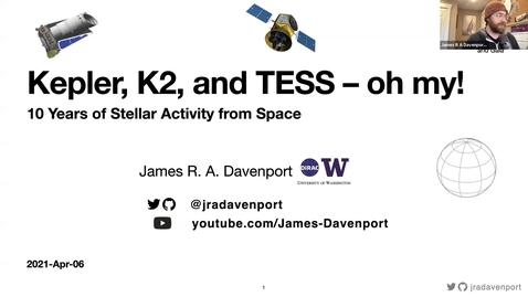 Thumbnail for entry Astronomy Seminar - James R. A. Davenport