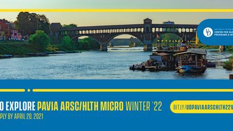 Thumbnail for entry 22W Pavia ARSC/HLTH - micro