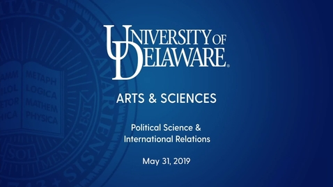 Thumbnail for entry 2019 Political Science and International Relations Convocation