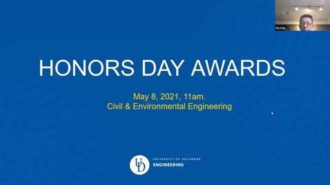 Thumbnail for entry Honors Day Award Celebration