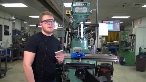 Thumbnail for entry CNC Mill Basics - 3 - CNC Pocket and Profile Features.mp4