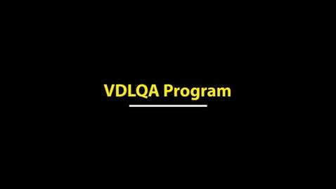Thumbnail for entry Veterinary Diagnostic Laboratory Quality Assurance (VDLQA) Program - 2018