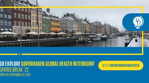 Thumbnail for entry 22S Copenhagen Global Health Internship - Spring Break