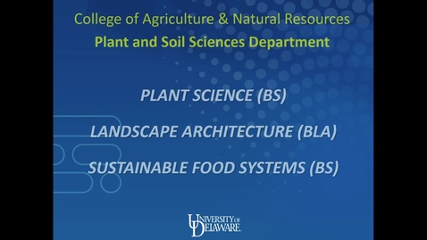 Thumbnail for entry Plant and Soil Sciences Department — College of Agriculture and Natural Resources