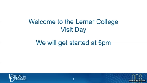 Thumbnail for entry Lerner Virtual Visit 5.10.2021
