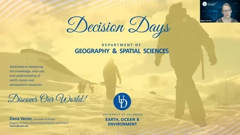 Thumbnail for entry Geography and Spatial Sciences (GSS) — College of Earth, Ocean and Environment