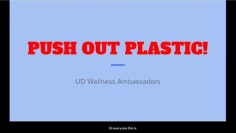 Thumbnail for entry Push Out Plastic