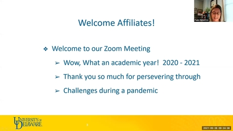 Thumbnail for entry Affiliates Meeting May 28, 2021