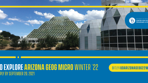 Thumbnail for entry 22W Arizona GEOG - micro