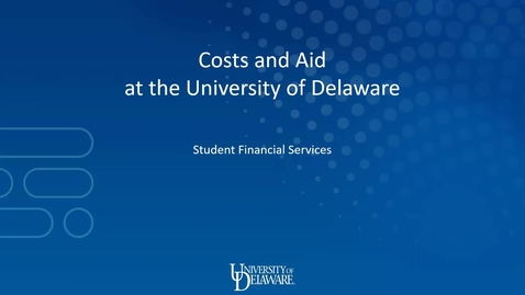 Thumbnail for entry Student Financial Services Prospective Student Presentation