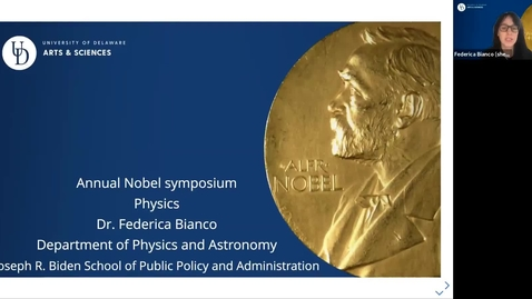 Thumbnail for entry Physics Talk - Dr. F. Bianco, Department of Physics and Astronomy