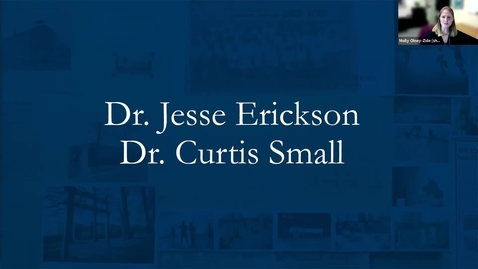 Thumbnail for entry A Celebration of Community - Dr. Jesse Erickson & Dr. Curtis Small
