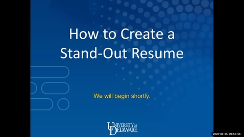 Thumbnail for entry How to Create a Stand Out Resume