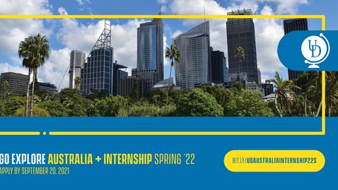 Thumbnail for entry Sydney, Australia +  Internship