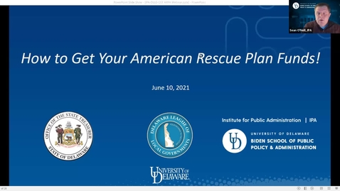 Thumbnail for entry How to Get Your American Rescue Plan Funds!