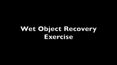 Thumbnail for entry Wet_Object_Recovery-SIT_Symposium_2021