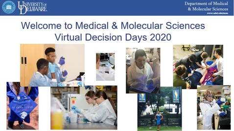 Thumbnail for entry Medical and Molecular Sciences — College of Health Sciences